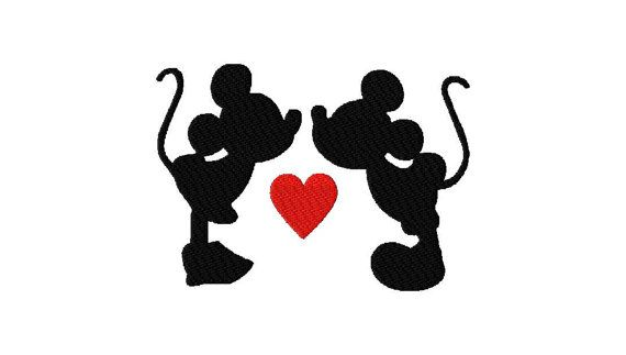 INSTANT DOWNLOAD Walt Disney Mickey and Minnie by EmbroideryFirst