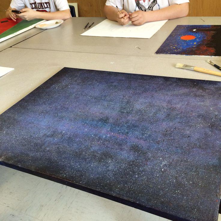 Painting a Galaxy ~ atsm_xo