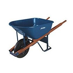 Jackson Professional Tools 6 Cubic Foot Steel Wheelbarrow