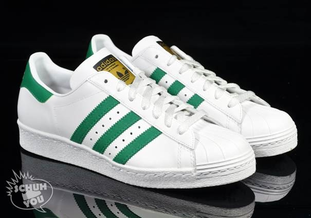 adidas superstar 2 green white orange