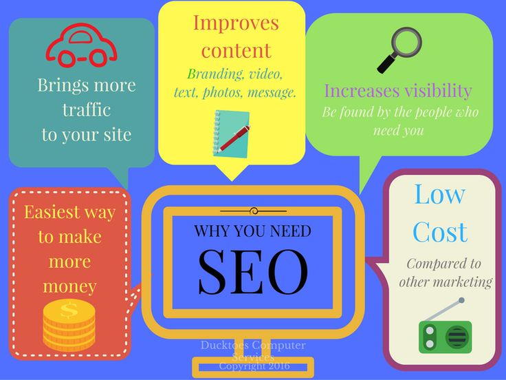 Why you need SEO infographic