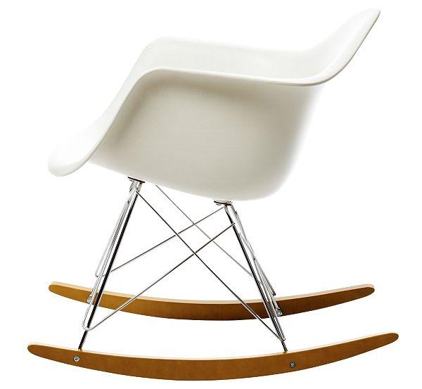 rocking eames rar meubles concept 169 - Fantastisch Tolles Dekoration Eames Chair Grau