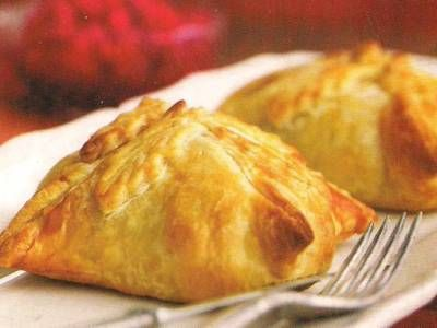 Chicken Wellington - uses spinach instead of mushrooms