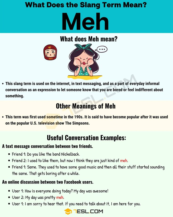 Meh Meaning: What Does Meh Mean In Texting And Online