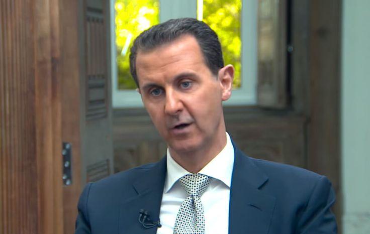アサド大統領がシリアでの化学攻撃を否定