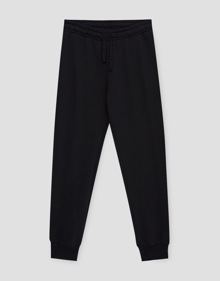 ¡Cómpralo ya!. Pantalón jogging. Pantalón jogging , pantalónjogger, joggers, jogging, joggings, jog, jogger, hosejogger, joggers, pantalonjoggeur, pantalonejogger, joggers. Pantalón jogger  de mujer color negro de Pull & Bear.