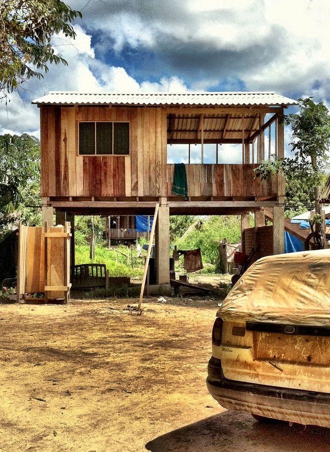 63 best casas sobre pilotes images on Pinterest | Architecture ...