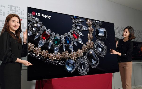 LG reveals world's first 88-inch, 8K, OLED television ahead of CES