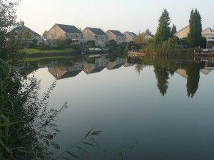 De Rietplas in Emmen. Op deze foto in de herfst.