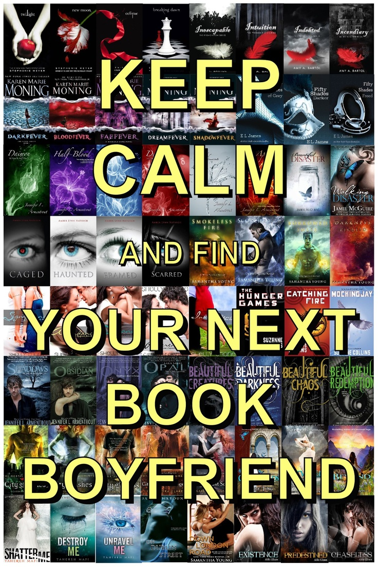 Keep Calm And Find Your Next Book Boyfriend! --The Premonition Series