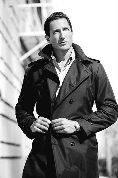 Nothing like a man in a trench  Sasha Roiz