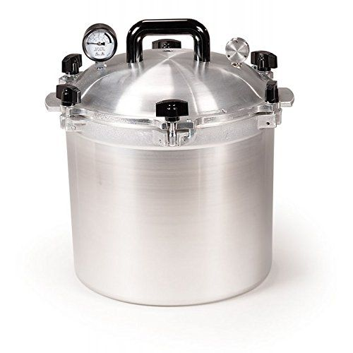 All American 921 21-1/2-Quart Pressure Cooker/Canner All American http://smile.amazon.com/dp/B00004S88Z/ref=cm_sw_r_pi_dp_O00Pwb1FBACEN