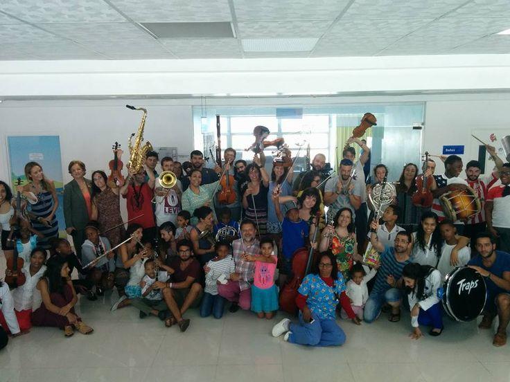 Vínculos es un proyecto de cooperación internacional que busca acercar la música a los más desfavorecidos.