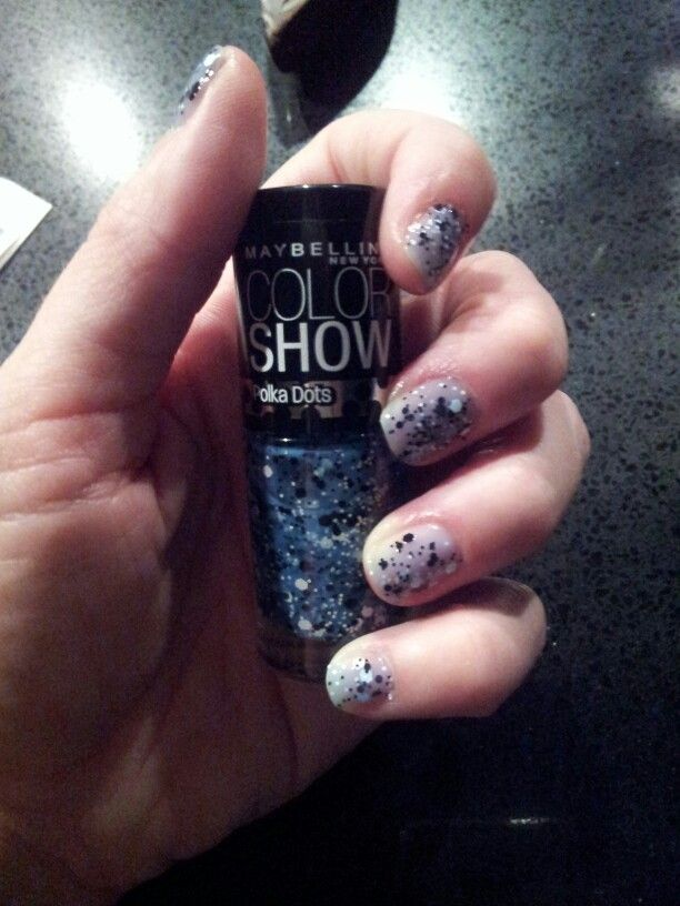 Maybelline Color Show polka dots - fun!!!