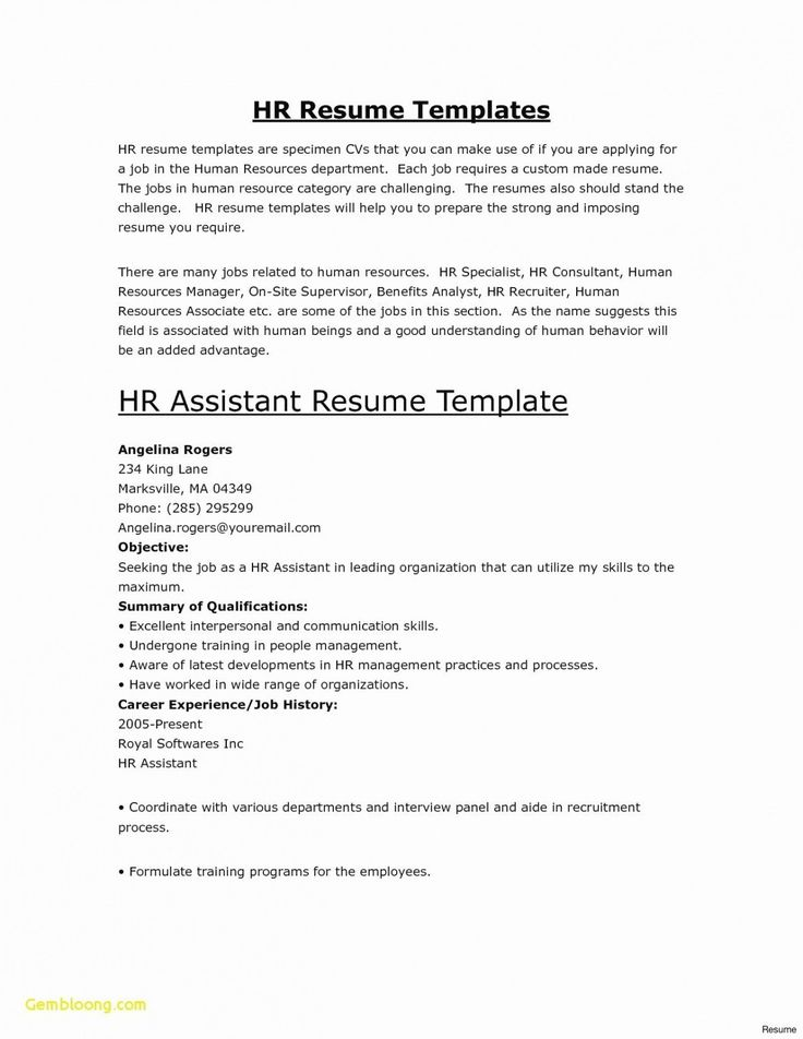 Printable Nanny Handbook Template In 2021 Good Resume Examples Resume Skills Cover Letter For Resume