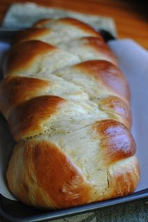 Honey Callah Bread.....so goood! I had to add a LOT more flour though... Maybe not having a mixer & having to do it all by hand makes a difference?? If you make the bread though, definitely braid 2 loaves.. otherwise it's ridiculously large & you need to double pan to not burn the botten. I had to bake it an extra 10-15 minutes. due to my oven? the size?