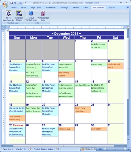 132 best images about Microsoft Word For Scrapbooking – Word Calendar Sample