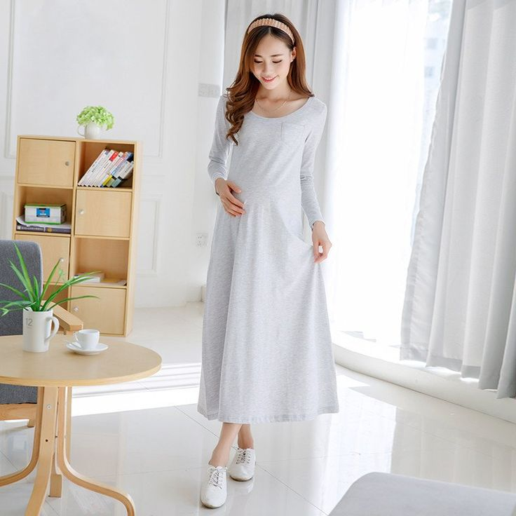 Ankle Length Maternity Dresses