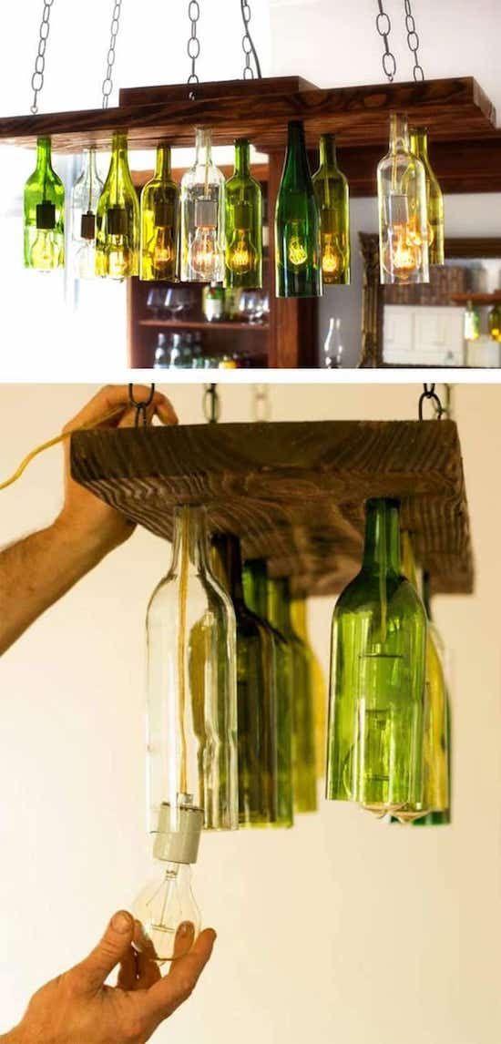 lustre des bouteilles de vin vieux