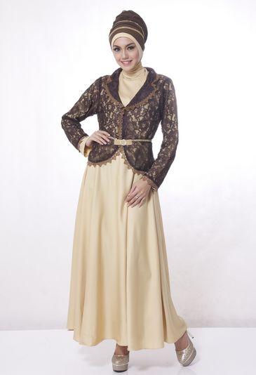 Penting!!! Ini Kreasi Kombinasi Baju Pesta Muslimah Nan Glamour.. - Untuk mengkreasikan busana pesta muslimah anda dapat nambahkan motif khusus pada busana y...