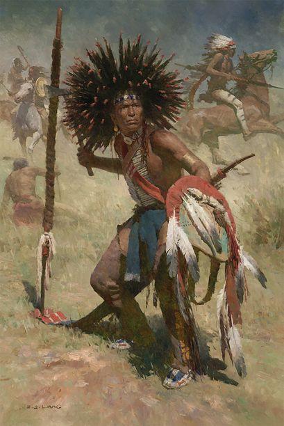 Artifacts Gallery - Lakota Sash Bearer, 1848