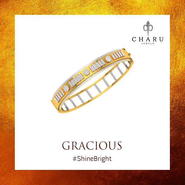 Diamonds hold your standard of grace and perfection. #Gracious #CharuJewels #Jewels #Jewelry