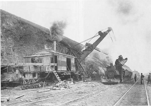 Construction Of Fourth Canal 1920 S With Steam Shovel
