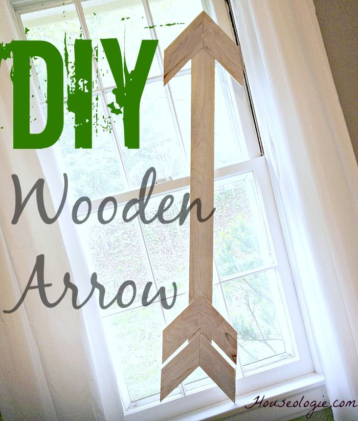 Looking for an easy wall decor idea?This DIY Wood Arrow is perfect wall art! And if you have scrap wood lying around you can make it for FREE!
