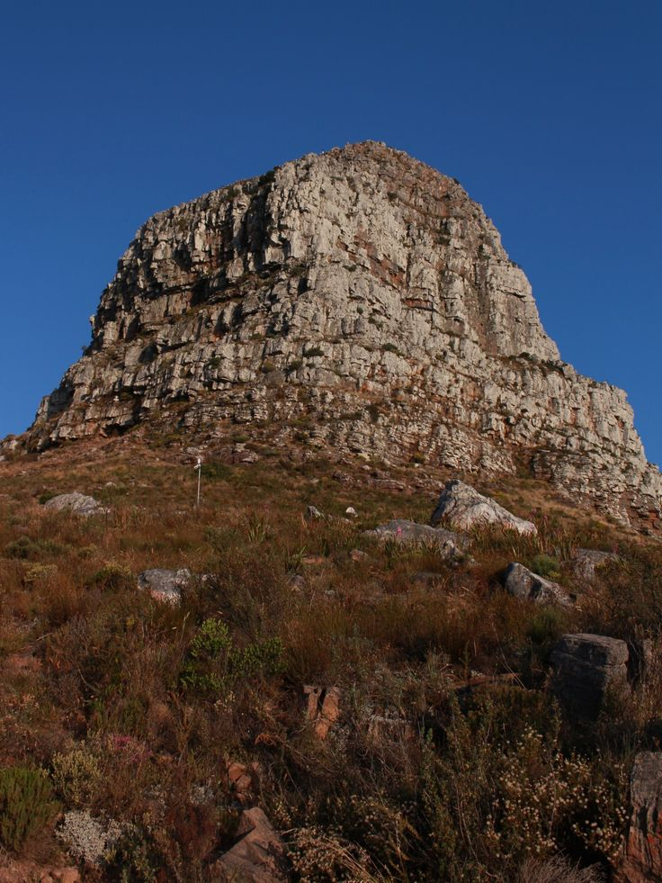Lions Head view from below