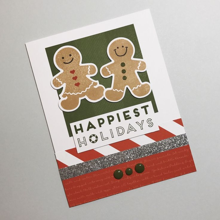 Today I'm sharing two more cards available at my card buffets this month. The inspiration for these cards came from the Beary Christmas Scra...