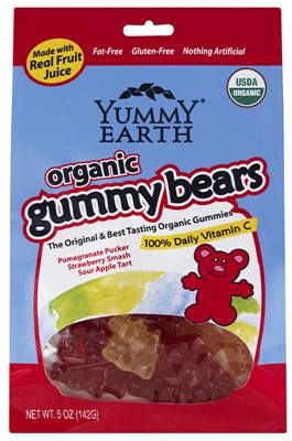 YummyEarth Organic Gummy Bears review-love these things!