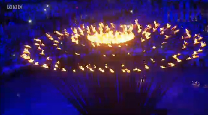 2012 London Olympic Opening Ceremony: Lighting Ceremony