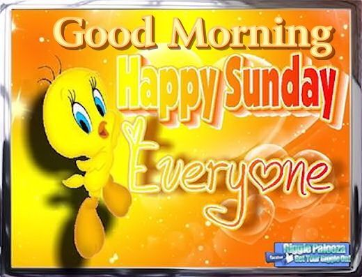 Tweety Good Morning Happy Sunday Pictures, Photos, and Images for Facebook, Tumblr, Pinterest, and Twitter