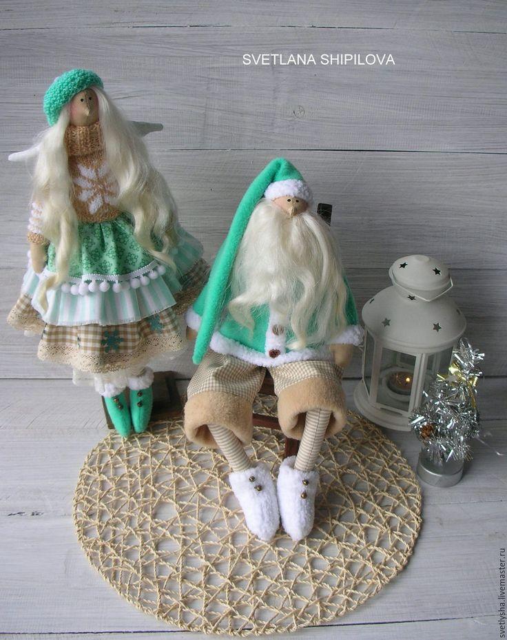 Кукла тильда на новый год своими руками