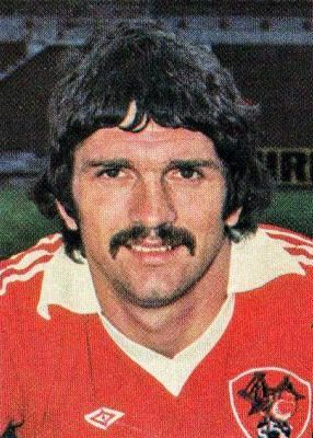 Don Gillies of Bristol City in 1976.