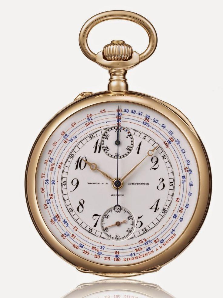 Vacheron Constantin 1905 Chronograph n° 10258 Pocket Watch