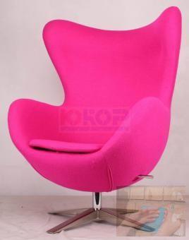 Кресло EGG WOOL (ЭГГ, яйцо шерсть) дизайнерское на крестови