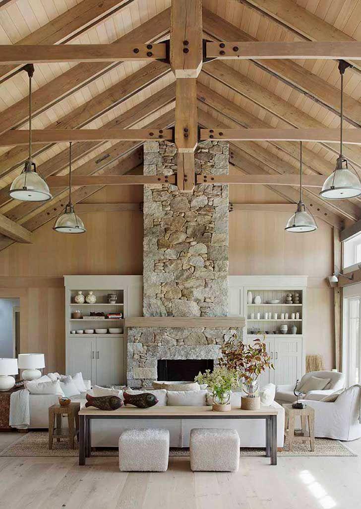 Потрясающий дом на пляже в США | Пуфик - блог о дизайне интерьера