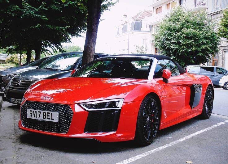 2016 Audi R8 V10 Spyder Bilar Pinterest Bilar