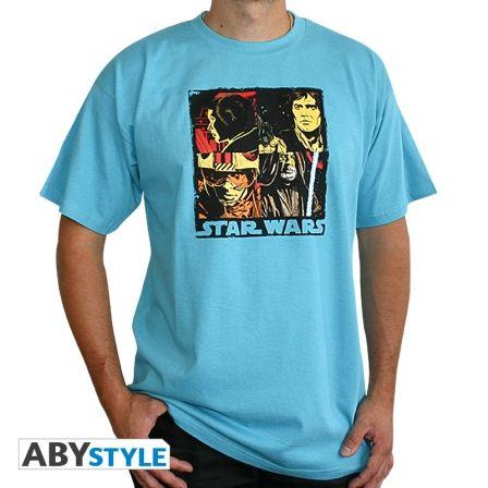 STAR WARS T-shirt Pop Art Swimming Pool