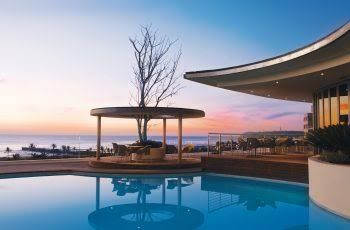 Panorama bar and pool deck in Durban