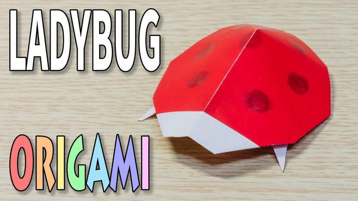best 25 origami ladybug ideas on pinterest beginner