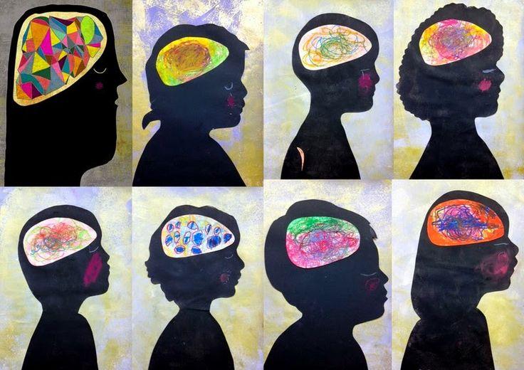 les petites têtes de l'art: D'après Eszter Schall, illustratrice hongroise