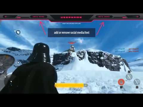 Star Wars Battlefront 3 Twitch Overlay Template