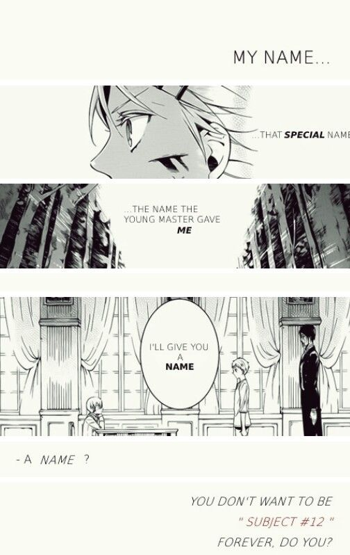 Ciel sure has a heart (even if that's a tiny bit)   Black butler   Finny