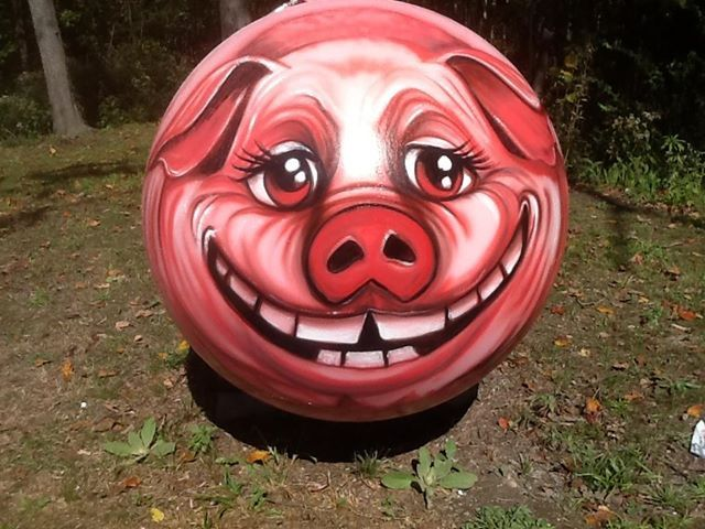 Amazing Pig Propane Tank Painted Tanks Pinterest Art Yard And Ideas