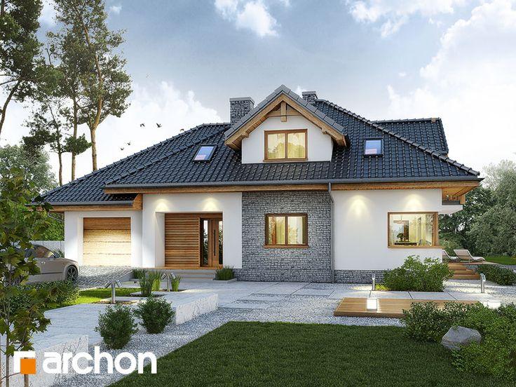 """Nasza #nowość - Projekt: """"Dom w kannach 3"""". Zobacz więcej zdjęć na archon.pl"""