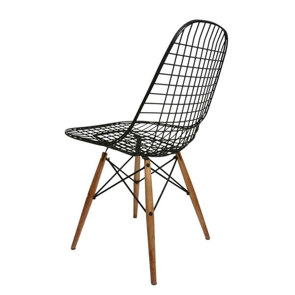 50 best images about charles and ray eames on pinterest for Chaise wire eames