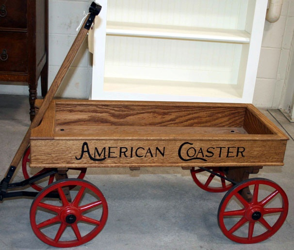 American Coaster Wagon Old Toy Wagons Toy Wagon Cars Pedal Cars