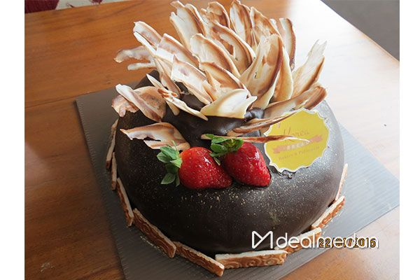 Chocolate Moelleux Cake From Korea Bakery & Patisserie